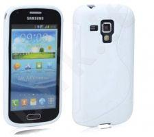 Samsung Galaxy Trend dėklas SILICON Forever baltas