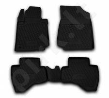 Guminiai kilimėliai 3D PEUGEOT 107 2005-2014, 4 pcs. /L52010