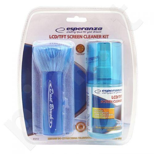 Rinkinys LED/ LCD /TFT/ PLASMA ekranų valymui Esperanza ES112