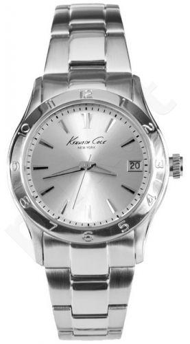 Laikrodis KENNETH COLE - ELEGANCE SUNRAY SILVER DIAL S /S vyriškas S /S apyrankė
