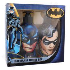 DC Comics Batman & Robin rinkinys vaikams, (šampūnas & kondicionierius 2v1 Batman 300 ml + dušo želė Robin 300 ml)