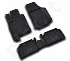 Guminiai kilimėliai 3D OPEL Meriva 2002-2010, 3 pcs. /L51017
