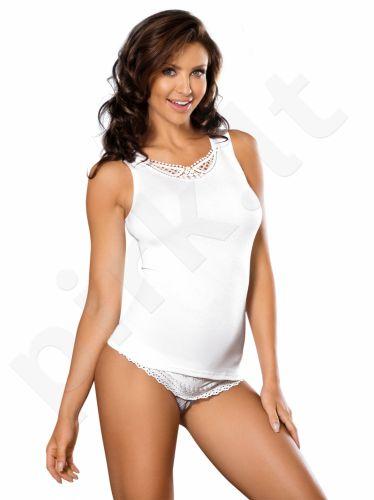 Babell medvilniniai marškinėliai WIKI (baltos spalvos)