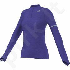 Bliuzonas bėgimui  Adidas Sequencials CCRun 1/2 Zip LS Tee W S02947