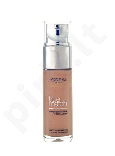 L´Oreal Paris True Match Super Blendable Foundation SPF17, kosmetika moterims, 30ml, (R1-C1 Rose Ivory)