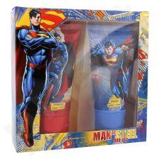 DC Comics Superman rinkinys vaikams, (dušo želė 150 ml + šampūnas 150 ml)