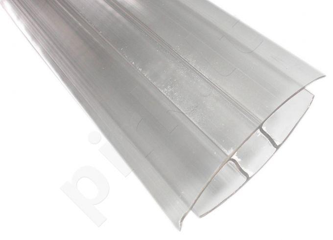 Profilis sujungiamasis 4mm 6m šiltnamiams