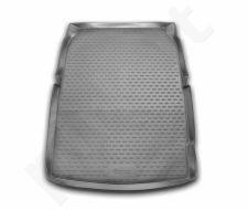Guminis bagažinės kilimėlis BMW 5 (F10) sedan 2010->  black /N04007