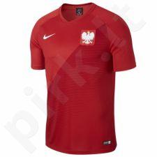 Marškinėliai futbolui Nike Polska Breathe Football Top Away M AA3433-611