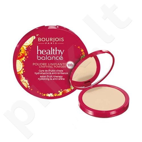 BOURJOIS Paris Healthy Balance Unifying pudra, kosmetika moterims, 9g, (56 Light Bronze)