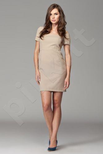 Suknelė M088 kreminė