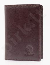 KRENIG Classic 12067 rudas odinis dėklas dokumentams
