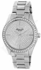 Laikrodis KENNETH COLE - ELEGANCE moteriškas S /S WITH STONES SILVER TONE apyrankė