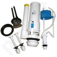 Klozeto vandens nuleidimo mechanizmas GRA-008P dvigubas