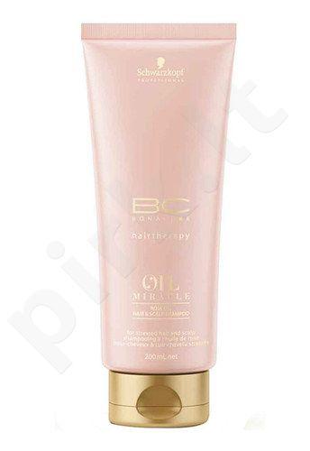 Schwarzkopf BC Bonacure Oil Miracle Rose Oil šampūnas, kosmetika moterims, 200ml