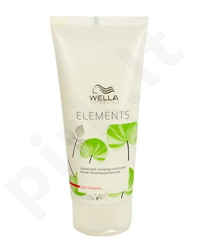 Wella Elements Lightweight Renewing kondicionierius, kosmetika moterims, 200ml