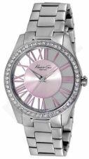 Laikrodis KENNETH COLE - TRANSPARENCY moteriškas WITH STONE S /S IP PINK S /S apyrankė