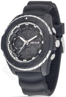 Laikrodis SECTOR   Street Digital Ad1015 Black Dial Blk St