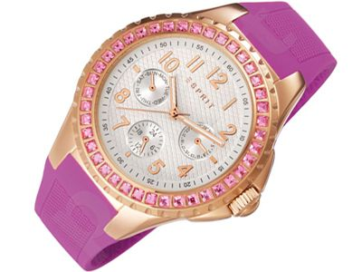 Esprit ES106622003 Benicia Rose Gold Pink moteriškas laikrodis