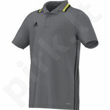 Marškinėliai futbolui polo Adidas Condivo 16 Junior AJ6907