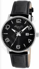Laikrodis KENNETH COLE - NEW YORK DRESS SPORT vyriškas S /S BLACK STRAP