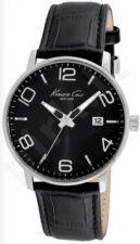 Laikrodis KENNETH COLE - NEW YORK DRESS SPORT vyriškas S /S BLACK STRAP