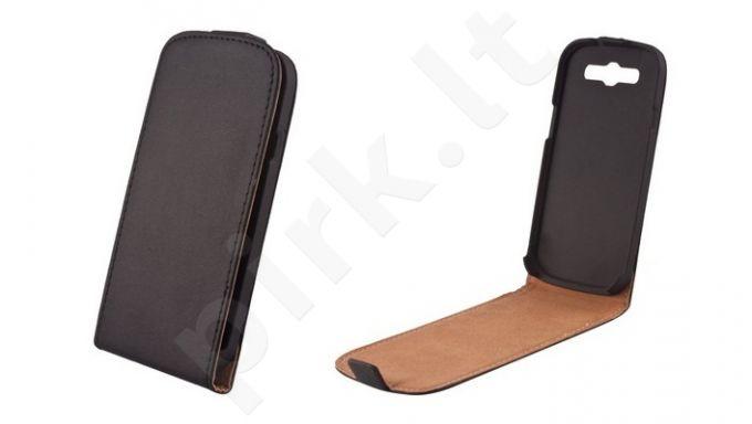 Sony Xperia M2 žydras dėklas ELEGANCE Forever juodas
