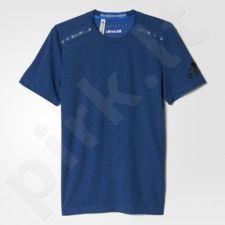 Marškinėliai treniruotėms Adidas Climachill Tee M S94517