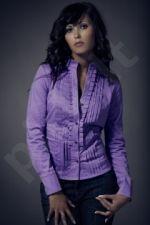 Marškiniai M020 violetinė