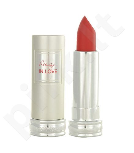 Lancome Rouge In Love, lūpų dažai kosmetika moterims, 4,2ml, (163M Dans Ses Bras)