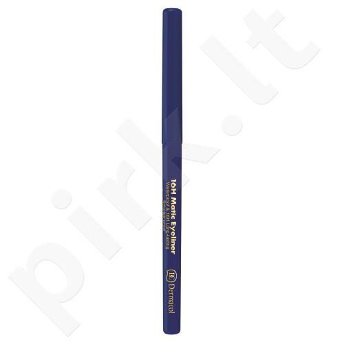 Dermacol 16H Matic, akių kontūrų pieštukas moterims, 0,28g, (2 Navy)