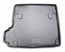 Guminis bagažinės kilimėlis BMW X3 (E83) 2008-2010 black /N04012