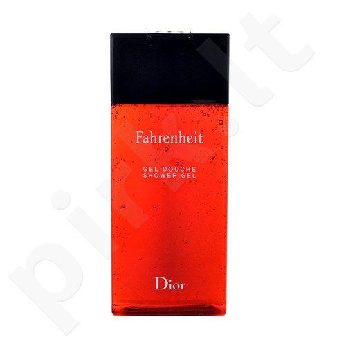 Christian Dior Fahrenheit, dušo želė vyrams, 200ml