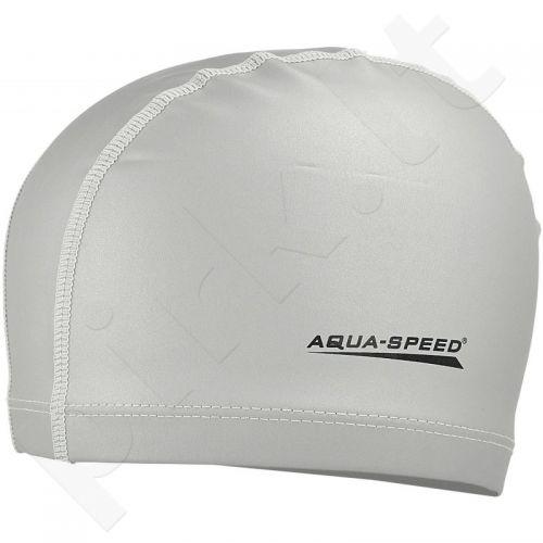 Maudymosi kepuraitė  Aqua-Speed Best sidabrinė