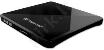 Išorinis DRW Transcend, USB, Plonas, Juodas, Retail, 13.9mm