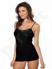 Babell medvilniniai marškinėliai SUSANA (juodos spalvos)