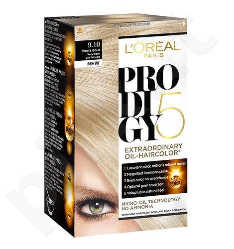 L´Oreal Paris Prodigy 5, plaukų dažai kosmetika moterims, 1vnt, (5.35 Tanned Chocolate)