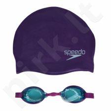 Plaukimo rinkinys Speedo Jet Junior Swim Set 8-093026817 violetinė