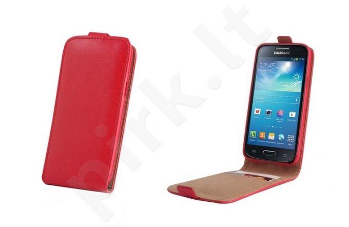 Samsung Galaxy Ace 4 dėklas PLUS Forever raudonas
