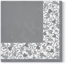 Servetėlės Chic Grey Frame 113529