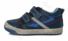 D.D. step mėlyni batai 25-30 d. 040407m