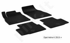 Kilimėliai Opel Astra K 2015-> black