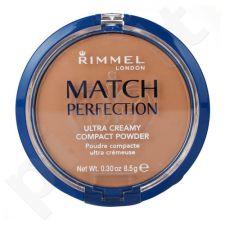 Rimmel London Match Perfection Ultra kremas kompaktinė pudra, kosmetika moterims, 8,5g, (201 Classic Beige)