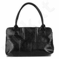 DAN-A T171 juoda rankinė iš natūralios odos , moteriška