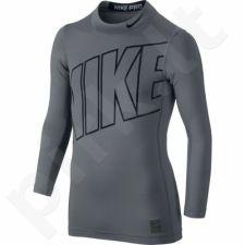 Marškinėliai termoaktyvūs  Nike Hyperwarm Comp Jr 743419-065