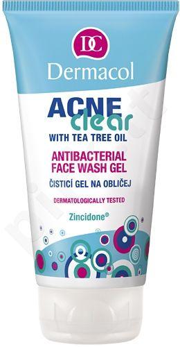 Dermacol AcneClear Antibacterial Face Wash Gel, 150ml, kosmetika moterims