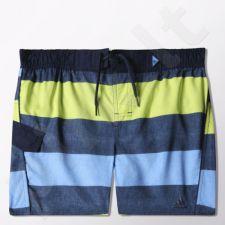 Maudymosi šortai Adidas Youth Stripe Short Classic Length Takedown Junior S16409