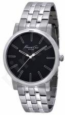Laikrodis KENNETH COLE - SLIM S /S vyriškas S /S apyrankė BLACK DIAL
