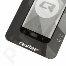 Apsauginis grūdintas stiklas Qoltec Premium skirtas Huawei P20 | 5D | juodas