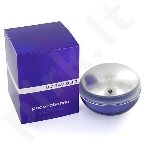 Paco Rabanne Ultraviolet, kvapusis vanduo (EDP) moterims, 80 ml (Testeris)